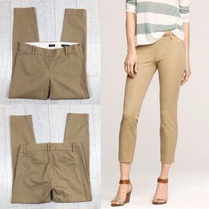 J. Crew Minnie Cropped Pants Ankle Woman Size 00